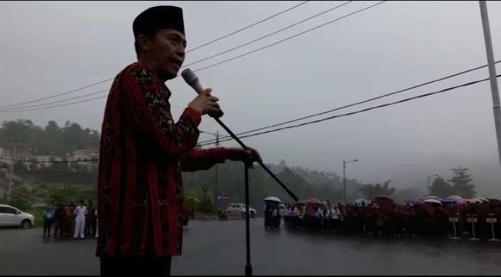 Bupati Pimpin Apel di Hari Batik Nasional Berita Bolsel