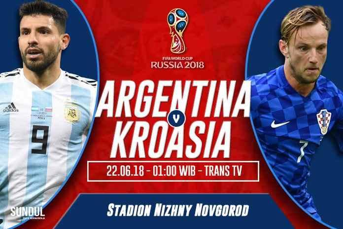 Rumah Taruhan Unggulkan Argentina Dibanding Kroasia Berita Olahraga