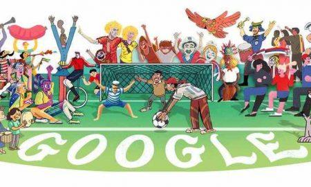 Google Doodle Tampilkan Ilustrasi Piala Dunia 2018 Berita Teknologi