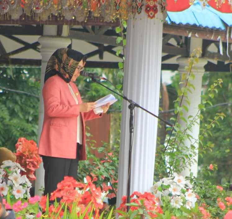Irup HUT Bhayangkara, Tatong Bara Bacakan Amanat Presiden Berita Hukum Berita Kotamobagu