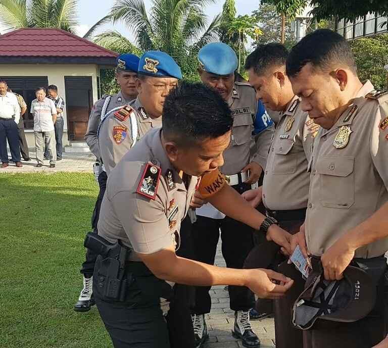 Tak Disiplin, Anggota Polres Bolmong Disidang dan Disanksi Berita Hukum