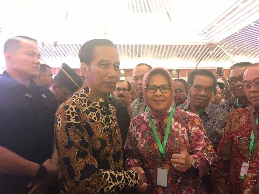 Bertemu Presiden Jokowi di Rakornas Pengendalian Inflasi, Tatong Sampaikan Salam Masyarakat Kotamobagu Berita Kotamobagu