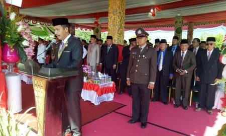 HUT ke- 73 RI, Saiful Pertama Kali Baca Naskah Proklamasi Berita Bolmut