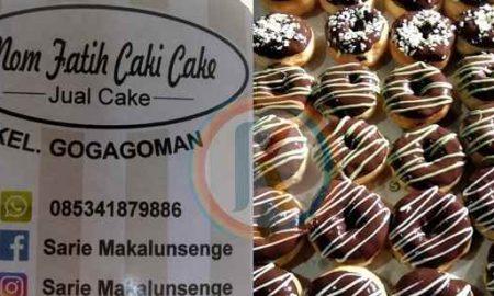 Enak dan Punya Rasa yang Khas, Donat Mom Fatih Caki Cake Patut Dicoba! Berita Ekonomi Berita Kotamobagu