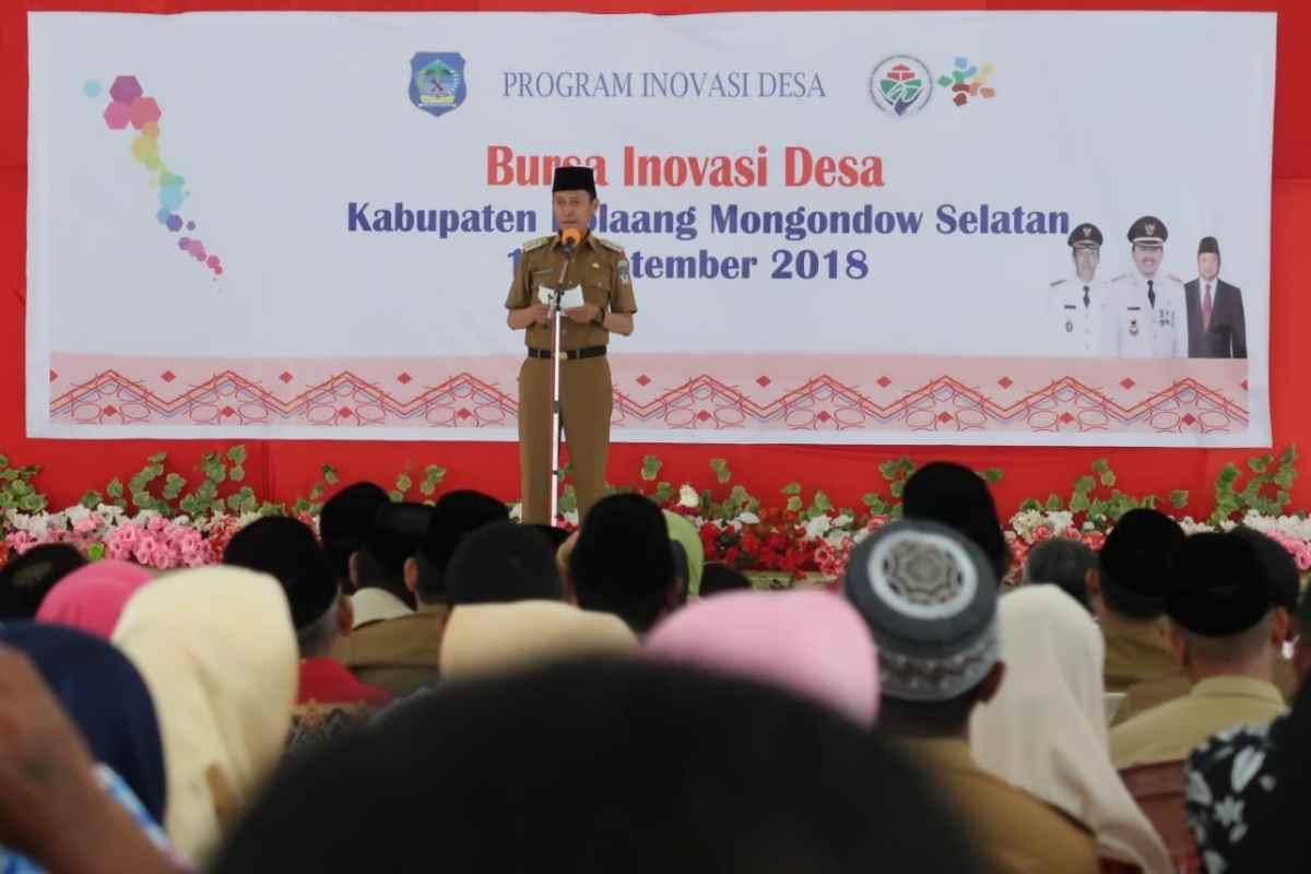 Bursa Inovasi Desa Majukan Pembangunan Bolsel Advertorial Berita Bolsel