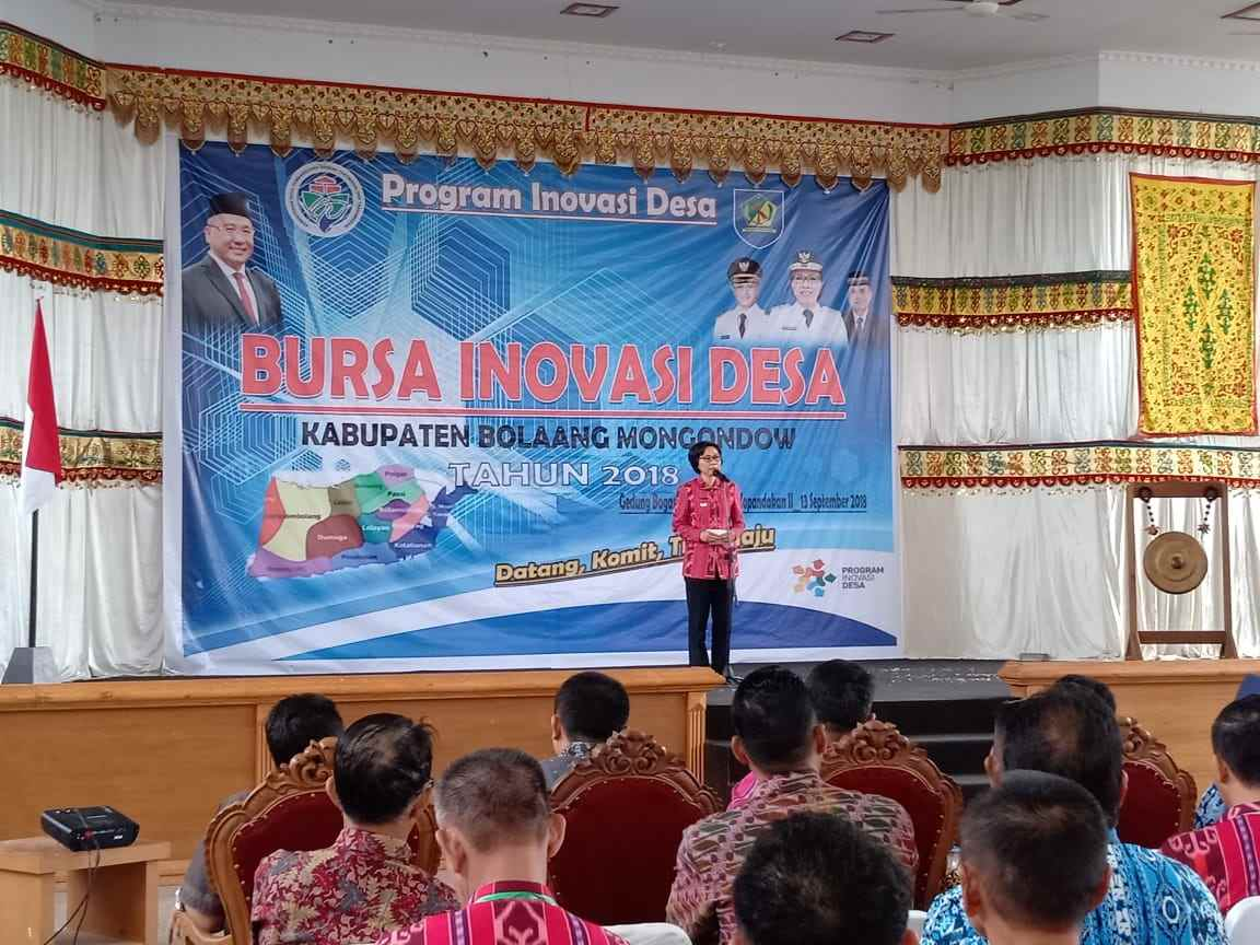 Pemkab Bolmong Gelar Bursa Inovasi Desa Berita Bolmong