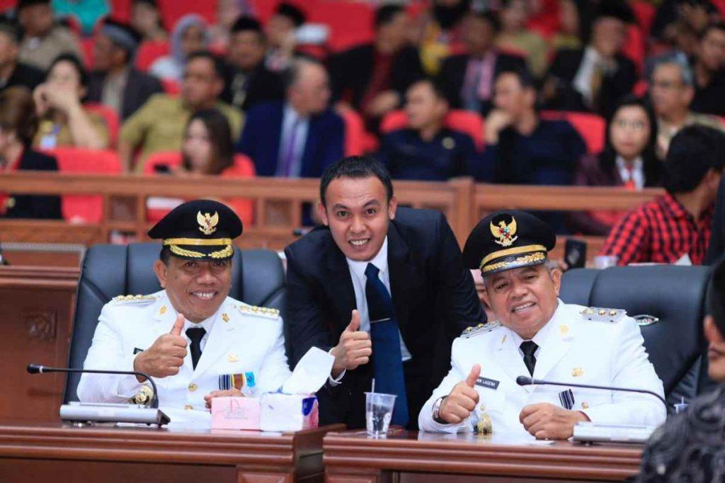 Dilantik Gubernur, Depri- Amin Resmi Nahkodai Bolmut Advertorial Berita Bolmut