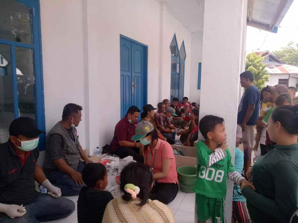 TRC Pemkab Bolmong Berikan Layanan Kesehatan Bagi Korban Bencana Palu- Donggala Berita Bolmong