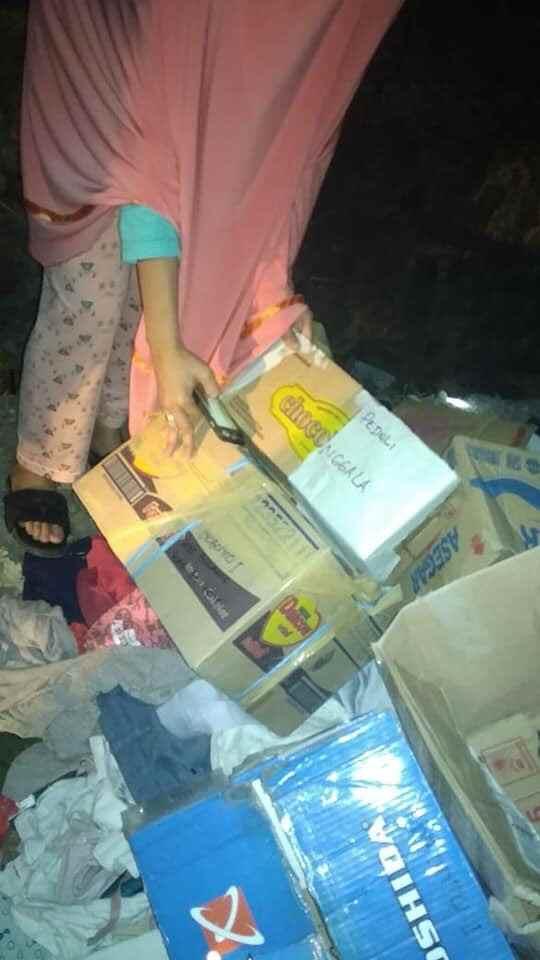 Baju Bekas, Amplop dan Kardus Bertuliskan Palu- Donggala Berserakan di Solimandungan. Polisi Lakukan Penyelidikan Berita Nasional