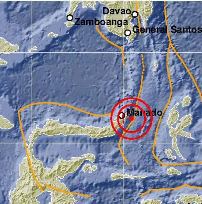 Terasa di BMR, Gempa 5,6 SR di Bitung Tak Berpotensi Tsunami Sulut