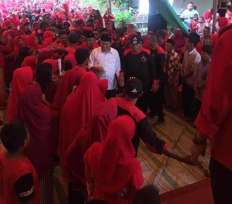 Tanoyan Bersatu Solid Menangkan Herson Mayulu dan Jokowi- Amin Berita Bolsel Berita Politik