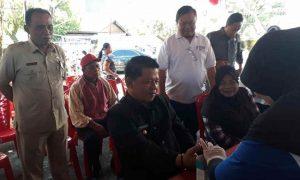 Wakil Walikota Kotamobagu Periksa Gula Darah di Pos Pelayanan Kesehatan Gratis. Hasilnya? Berita Kotamobagu