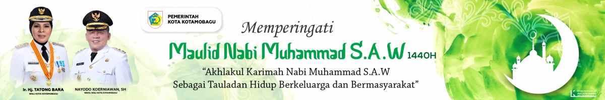 Iklan Resmi Pemerintah kota Kotamobagu Idul Fitri