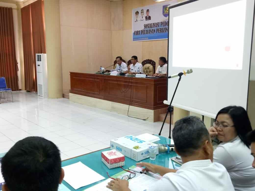 Asisten II Buka Sosialisasi Tata Cara Pelayanan Perizinan dan Non Perizinan Advertorial