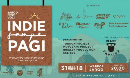 Sambut Tahun Baru 2019, Ada Jarod Fest di Warkop Jarod
