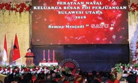 Pra-Natal Dihadiri 2.000 Kader PDI Perjuangan Sulut, Megawati Berpesan Begini! Berita Nasional Sulut