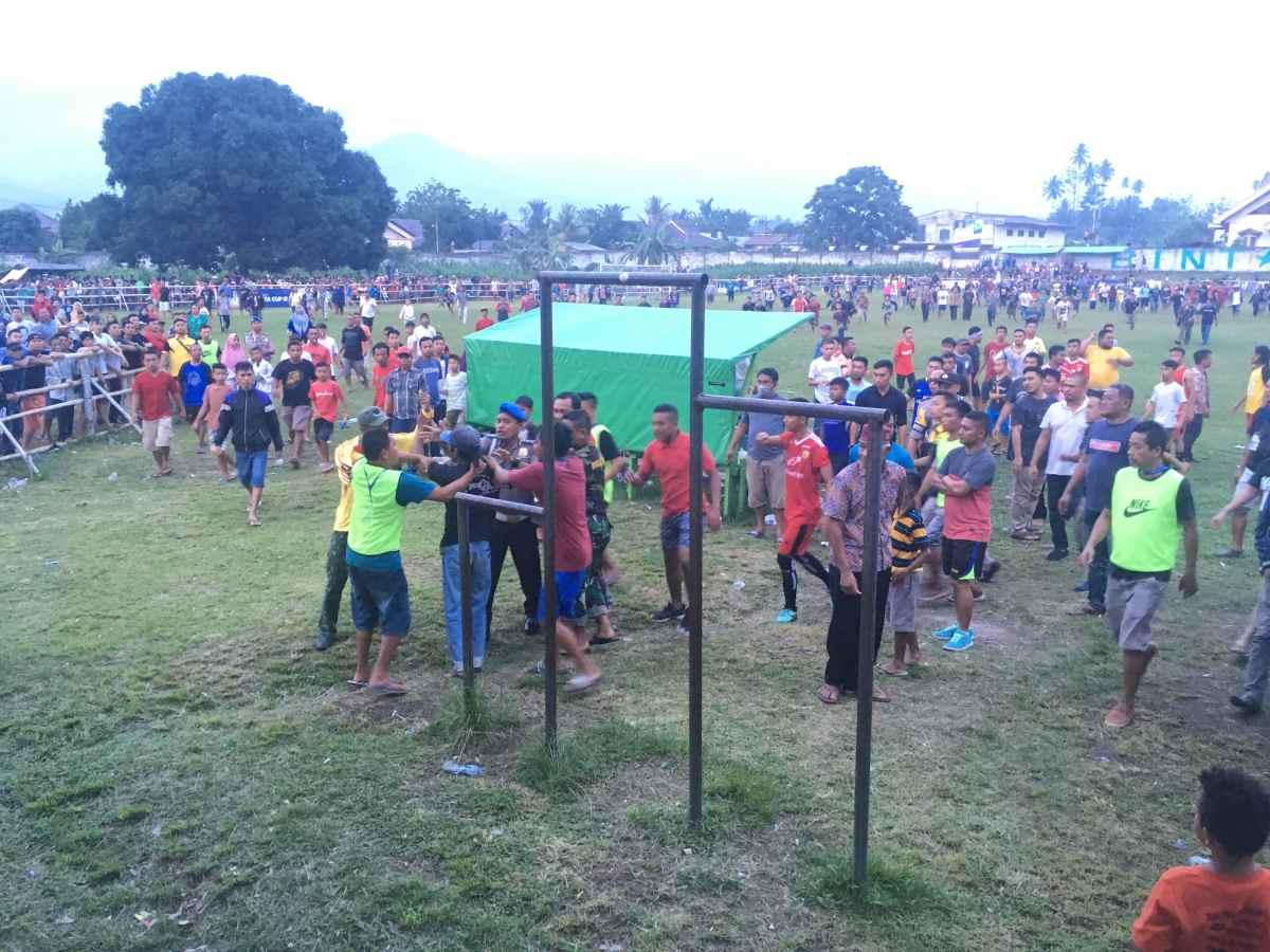 Diwarnai Kericuhan, Persin Melaju ke Final Walikota Cup Berita Kotamobagu Berita Olahraga
