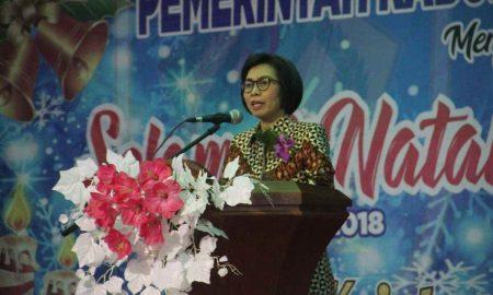 Perayaan Natal Pemkab Bolmong, Yasti Doakan Gubernur dan Wagub Lanjutkan Pimpin Sulut Berita Bolmong Sulut