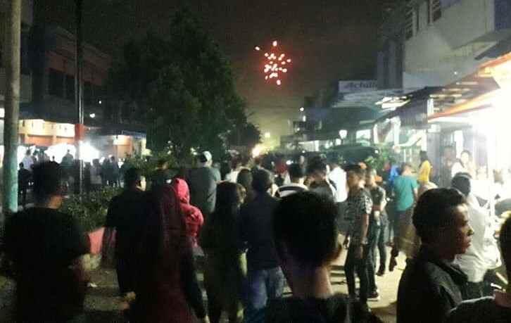 Tahun Baru di Kotamobagu, Ribuan Orang Tumpah Ruah di Pusat Kota Berita Kotamobagu
