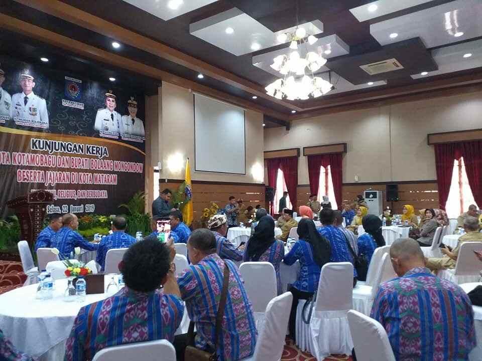 Lurah dan Sangadi se-Kotamobagu Belajar di Lombok Berita Kotamobagu