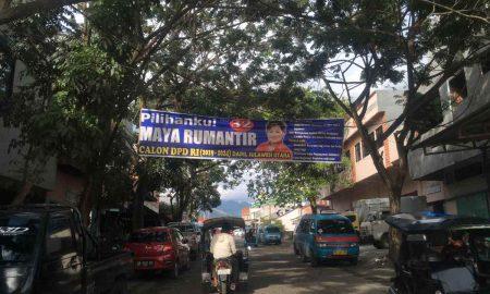 Melanggar Aturan, APK Maya Rumantir Belum Ditertibkan Berita Politik
