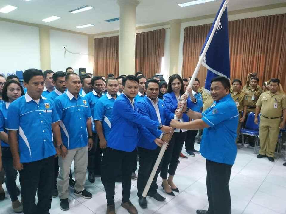 Pengurus DPD KNPI Bolmong Dilantik, Bupati Ajak Tunjukan Prestasi Bangun Daerah Berita Bolmong