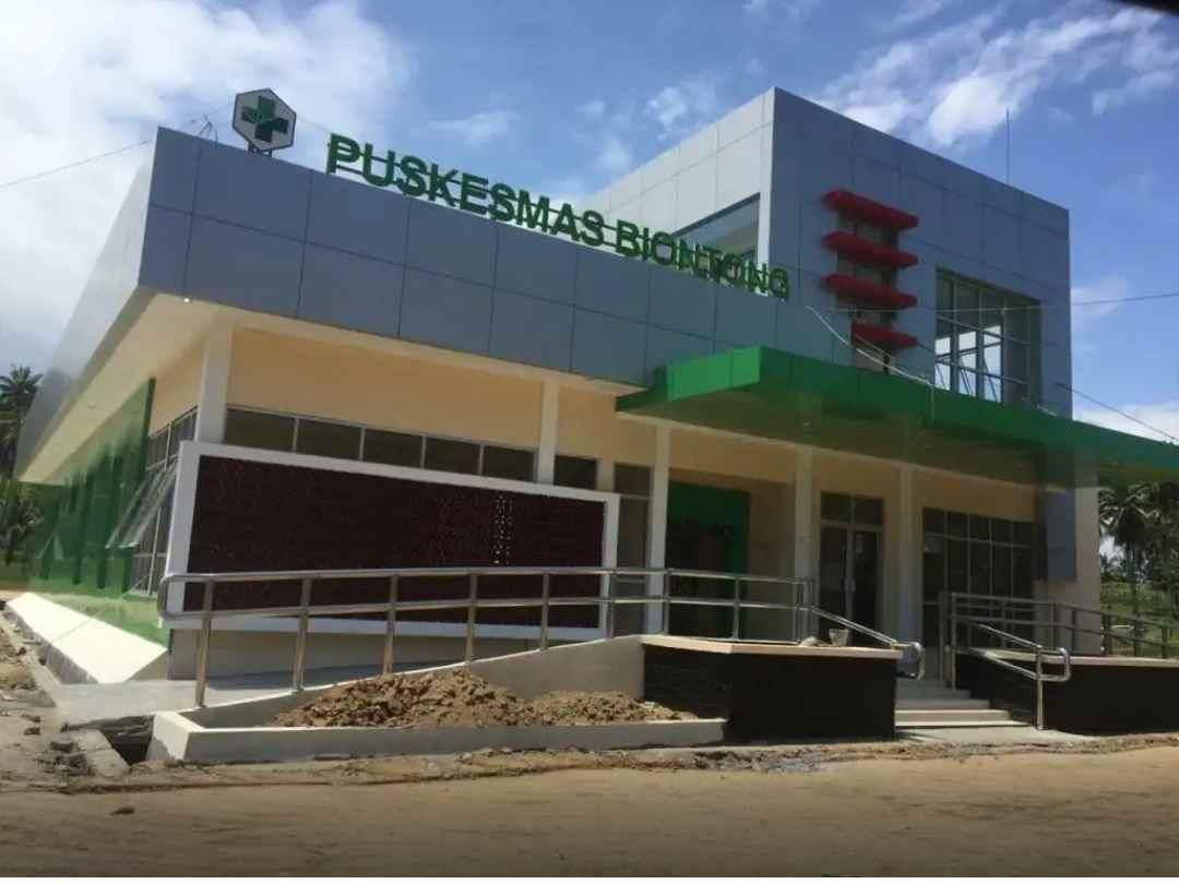 Pembangunan Puskesmas Biontong Tuntas Berita Bolmut