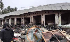 Pasar Poyowa Kecil Terbakar, Pedagang Berharap Begini ke Pemkot! Berita Kotamobagu