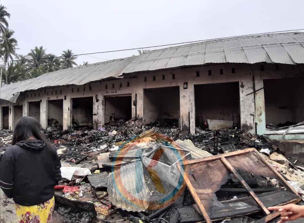 Pembangunan 12 Kios Terbakar Dianggarkan di APBD Perubahan Berita Kotamobagu