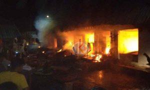 Nayodo: Kita Tunggu Hasil Investigasi Penyebab Kebakaran Pasar Poyowa Kecil Berita Kotamobagu