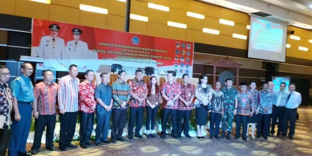 Di Hadapan Gubernur, Wabup Yanny Paparkan Empat Program Prioritas Pemkab Bolmong di Tahun 2019 Advertorial