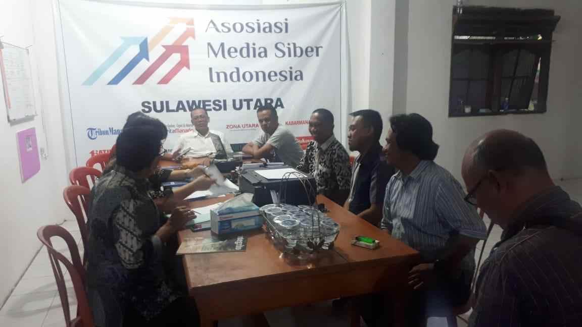 AMSI Sulut Wilayah ke-4 Diverifikasi Dewan Pers Sulut