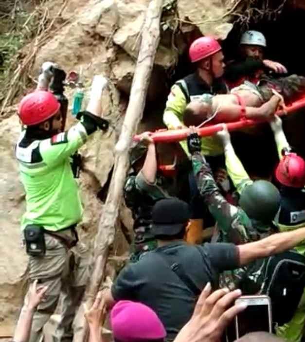 Potongan Kaki Kiri Penambang Asal Pontodon Berhasil Dievakuasi Berita Bolmong
