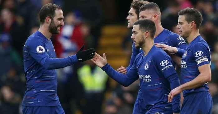 Gonzalo Higuain 2 Gol, Chelsea Cukur Huddersfield Berita Olahraga