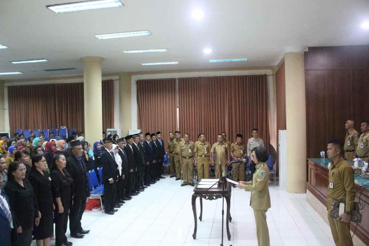 Lantik 232 Kepsek, Yasti: Kualitas Pendidikan Ditentukan Pemimpinnya Berita Bolmong