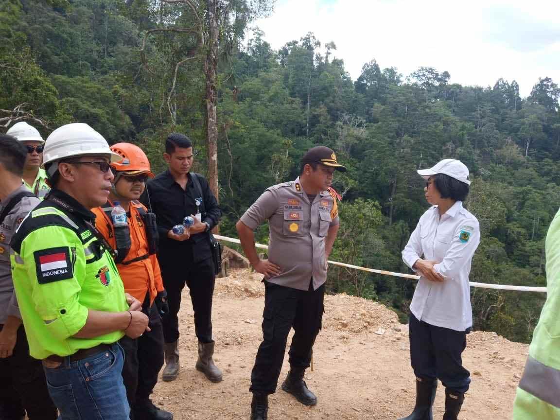Tambang Maut Bakan, Bupati Bolmong Pantau Langsung Proses Evakuasi Korban Berita Bolmong