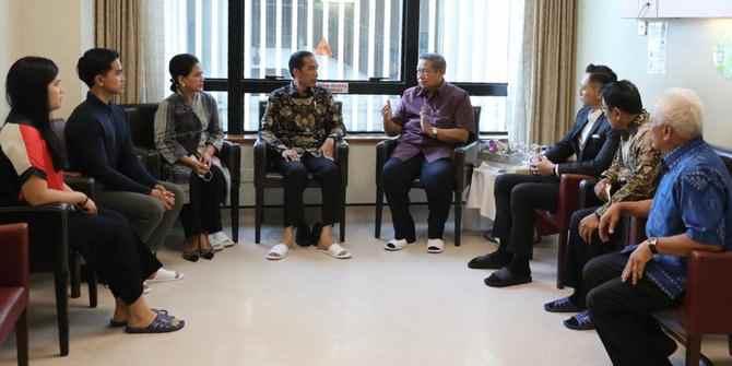 Jokowi: Kami dan Seluruh Rakyat RI Mendoakan Kesembuhan Ibu Ani Yudhoyono Berita Nasional