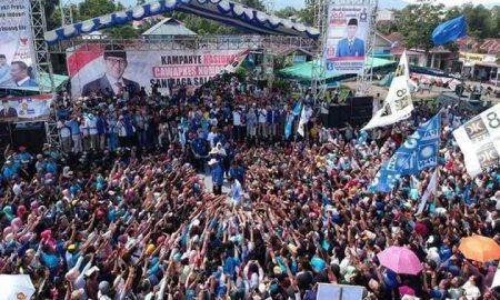 Ribuan Pendukung Padati Kampanye Sandiaga Uno di Kotamobagu Berita Nasional Berita Politik