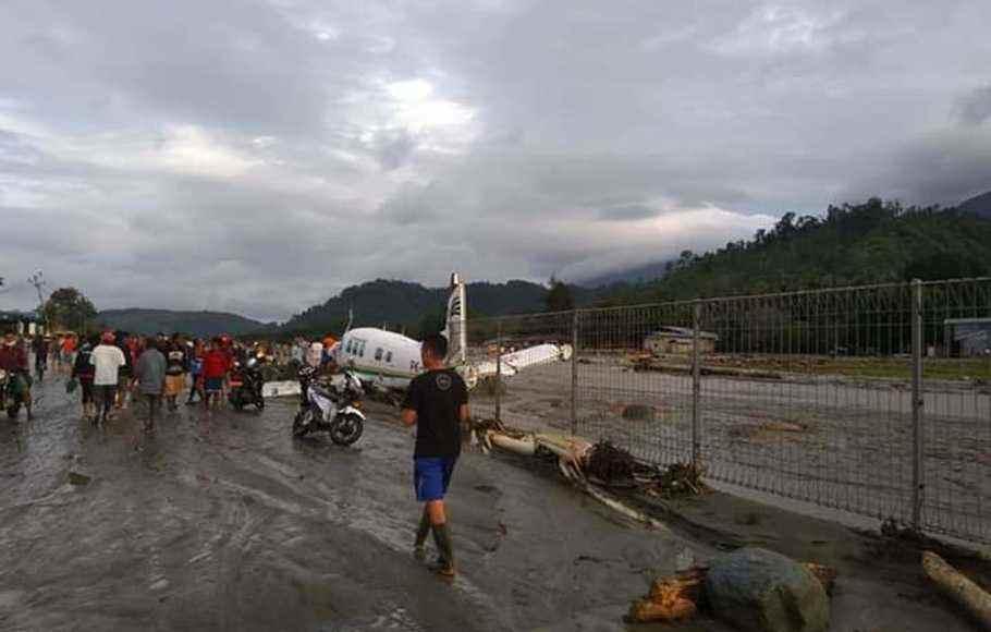 Hingga Minggu Pagi, Korban Tewas Banjir Bandang Bertambah jadi 42 Orang Berita Nasional