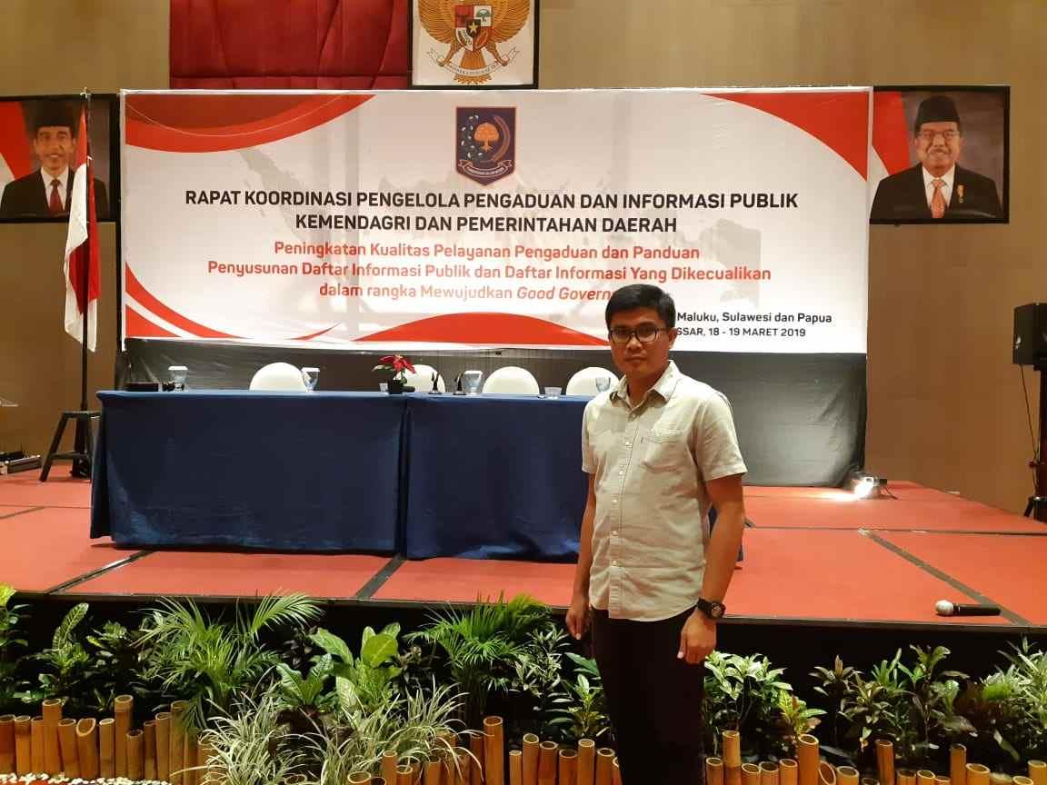 Penguatan Peran dan Kapasitas PPID, Diskominfo Bolmong Ikut Rakortek di Makassar Berita Bolmong