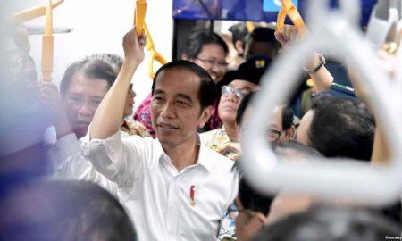 Jokowi Sebut MRT Jakarta Simbol Peradaban Baru Indonesia Berita Ekonomi