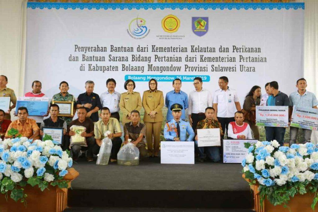 KKP dan Kementerian Pertanian Salurkan Bantuan untuk Bolmong Advertorial