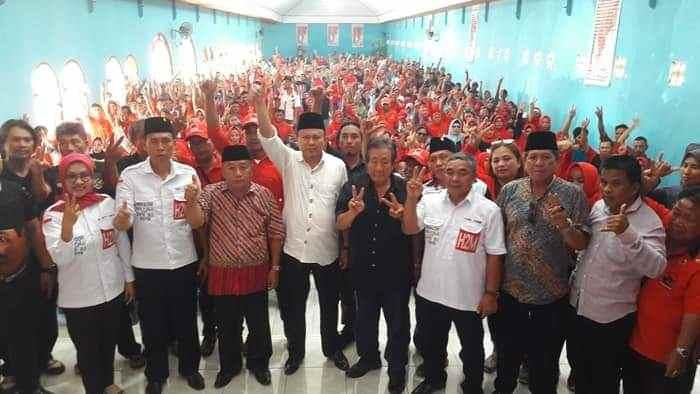 Lantik Ribuan Tim Pemenangan, Herson Sampaikan Provinsi BMR Cita-cita Bersama yang Harus Diwujudkan Berita Bolsel Berita Nasional Berita Politik