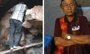 Kakek 75 Tahun Ini 4 Hari 4 Malam Datangi Goa Tambang Bakan dan Panggil Nama Anaknya Berita Bolmong