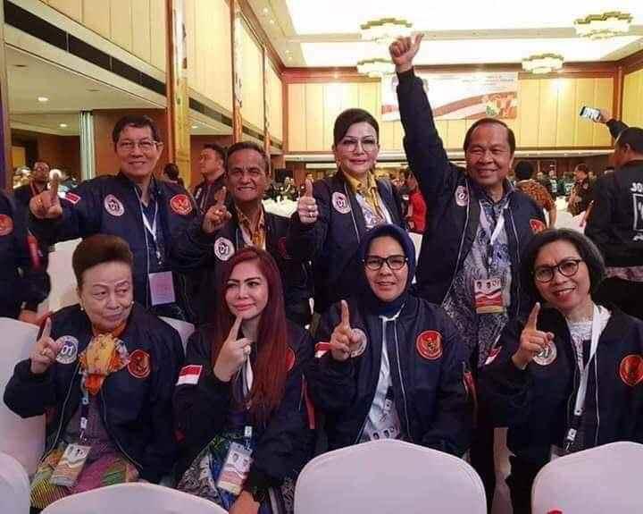Yasti dan Tatong Hadiri Konsolidasi Kepala Daerah Pendukung Jokowi Berita Politik