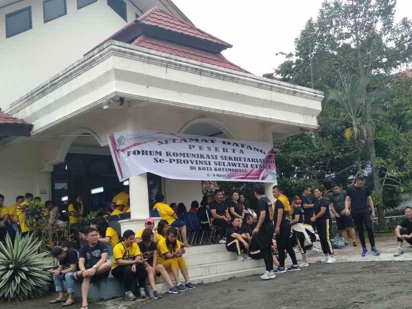 Resmi Dibuka, Setwan Kotamobagu Tuan Rumah FKSD Sulut Advertorial