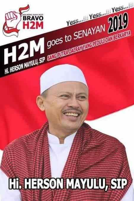 Makin Dicintai Rakyat Sulut, Permintaan Pemasangan Baliho Herson Mayulu Terus Meningkat Berita Bolsel Berita Politik Sulut