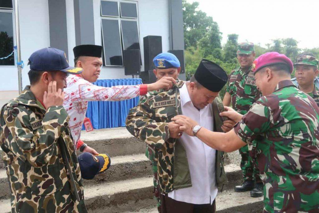 Herson Mayulu Sosok Penggagas Pos TNI AL di Bolsel Berita Bolsel Sulut
