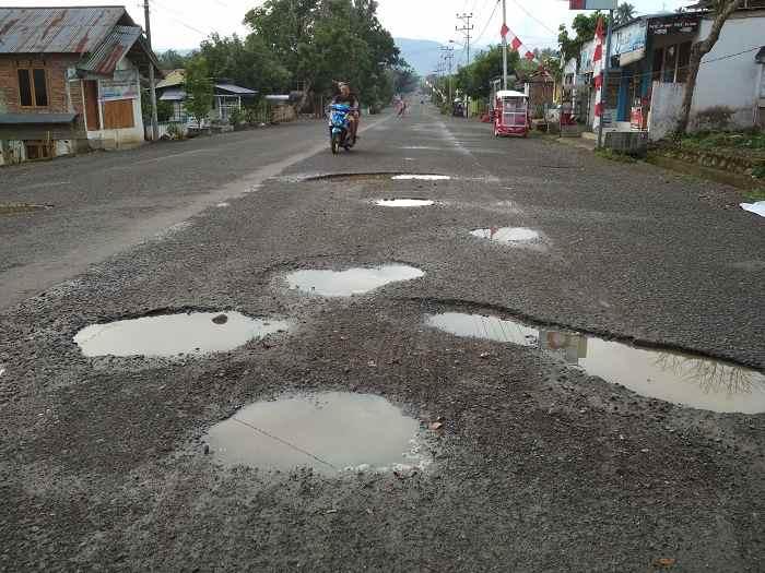 Sande: Jalan AP Mokoginta Tanggung Jawab Provinsi Berita Kotamobagu