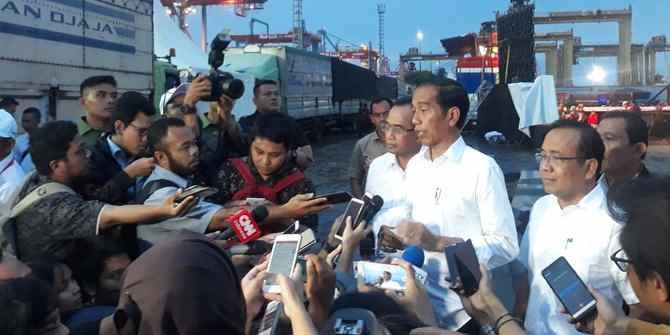 Bertemu Sopir Truk, Ini Titipan Jokowi Saat Hari Pencoblosan Berita Nasional